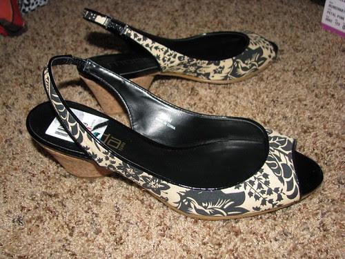 $3.00 shoes I got at savers