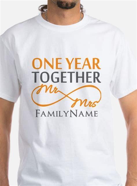 1 Year Anniversary T Shirts, Shirts & Tees   Custom 1 Year