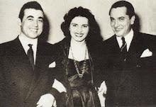 Amalia, Jaime Santos e il chitarrista Santos Moreira, 1952