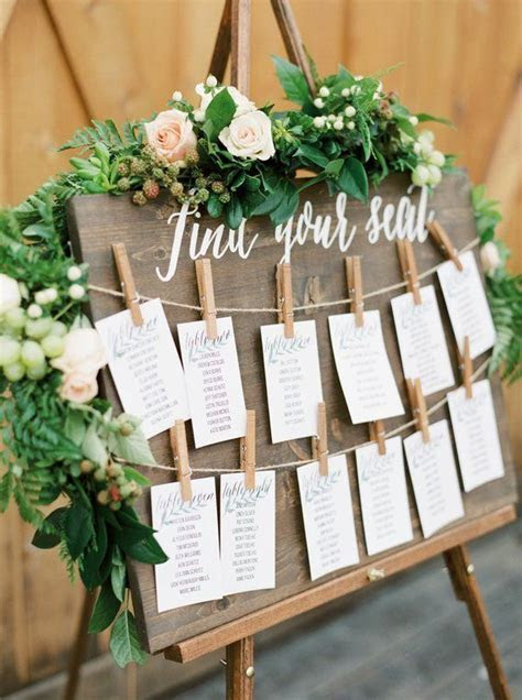 Find Your Seat Handcrafted Wedding Sign // Handpainted