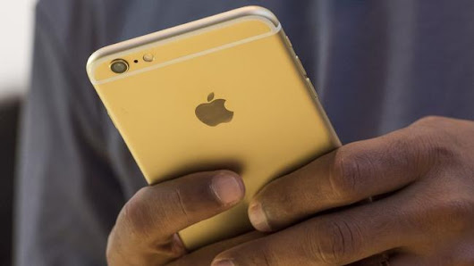 iPhone users target of Apple ID scam