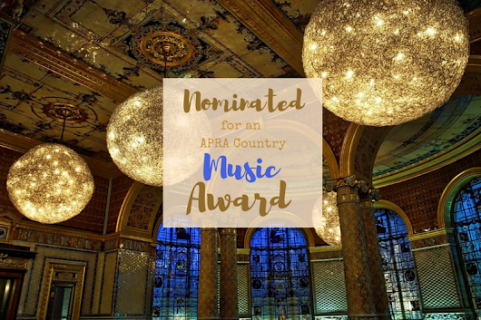 APRA Award Nomination for a Song featuring my Vocal Arrangement