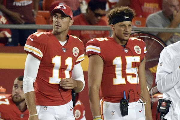 3531c25903a Scout QB to MVP  How Patrick Mahomes   redshirt  year and Alex Smith led to  a historic season