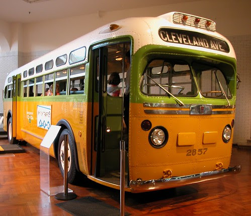 20040620 02a Rosa Parks bus @ Henry Ford Museum