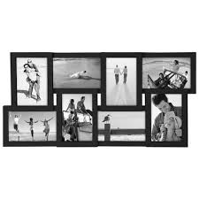 Black Collage Picture Frames Fit Different Sizes