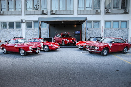 ALFA ROMEO SHOWCASES PRESTIGIOUS RACING HERITAGE AT 101st TARGA FLORIO