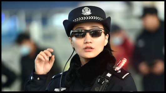 In China, these facial-recognition glasses are helping police to catch criminals