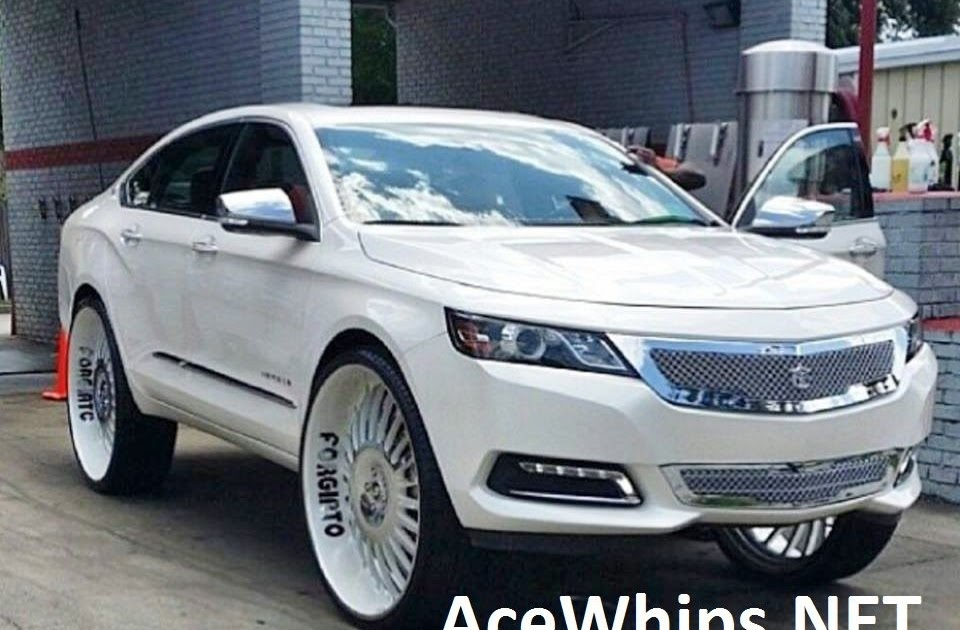 """Ace-1: First in the World 2014 Chevy Impala on 30"""" Forgiatos"""