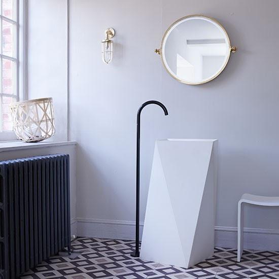 Интериори - идеи: Артистичност в банята