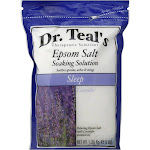 Dr. Teal's Epsom Salt Soaking Solution, Sleep - 48 oz bag