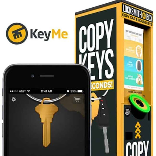 Key Duplication While On the Go with KeyMe
