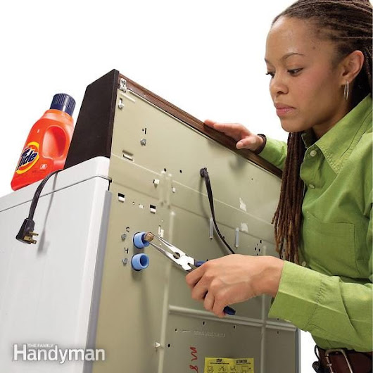 How to Clean a Washing Machine Inlet Screen | Family Handyman