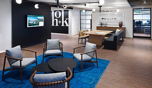 HOK's Toronto Office Makes Organization Feel Welcoming