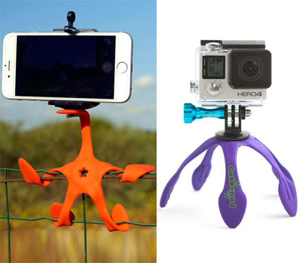 Gekkopod: A Multi-Functional Flexible Mount For Your Phone or Camera - Not Any Gadgets