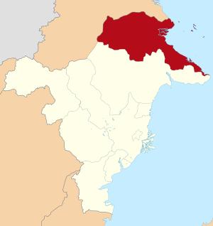 Lokasi Kalimantan Timur Kabupaten Berau.svg