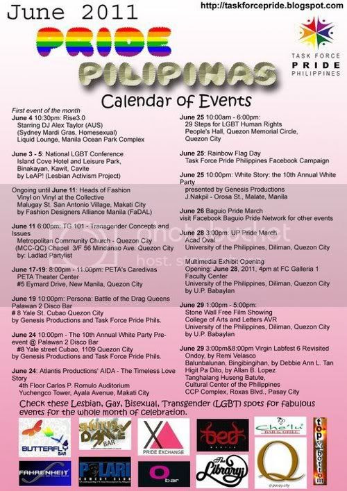 TFP Pride 2011 Calendar