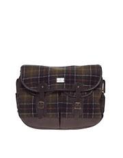 Barbour Wool Tartan Messenger Bag