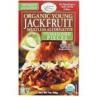 Edward & Sons Jackfruit, Young Organic, Meatless Alternative, Unseasoned Pieces - 7 oz