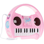 Hey! Play! Kids Lighted Karaoke Machine with Microphone