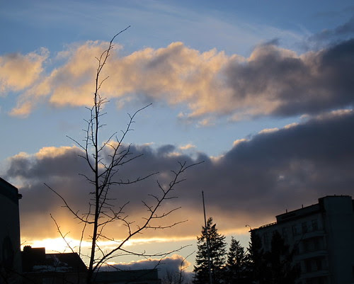Sunset in Helsinki 2 by Anna Amnell