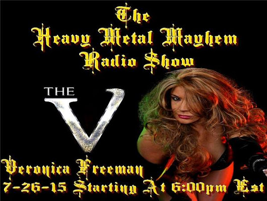 Guest 'The V' Veronica Freeman,Greg Marshall Of Stygian Shore & Marc Vanderberg