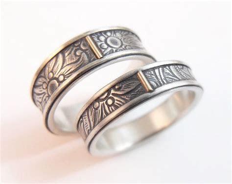 Womens Wedding Band Set Womens Wedding Ring Set Mens