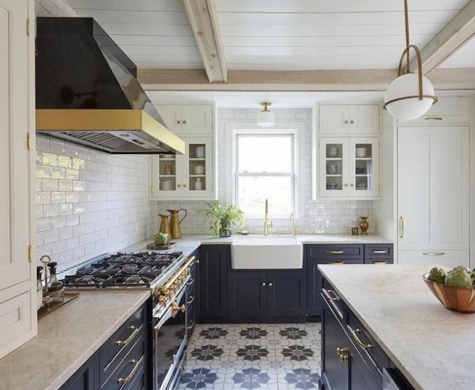 Kitchen Ideas Black White And Blue Kitchen Ideas