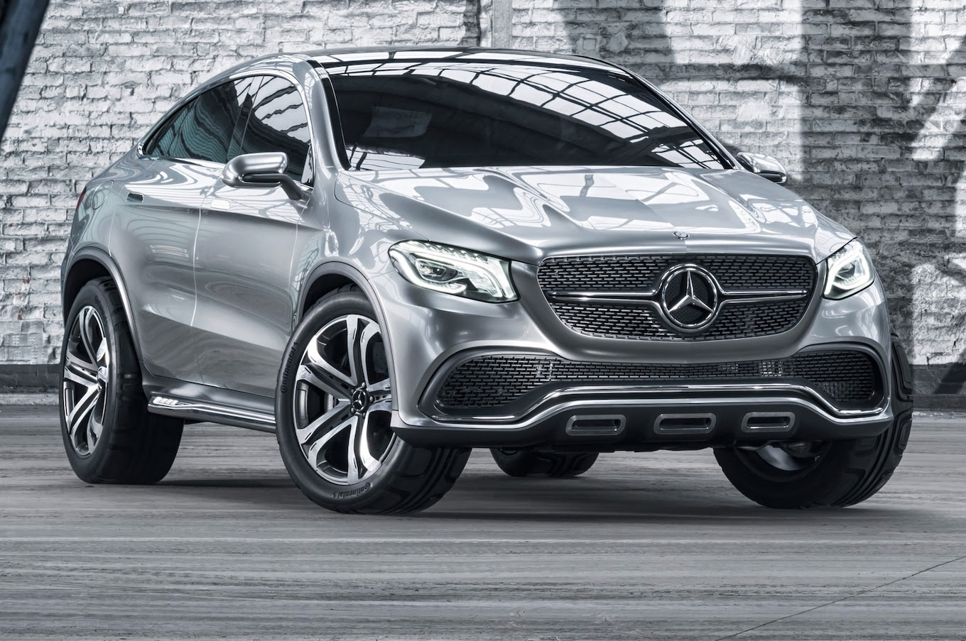 Mercedes-Benz Concept Coupe SUV First Look - Motor Trend