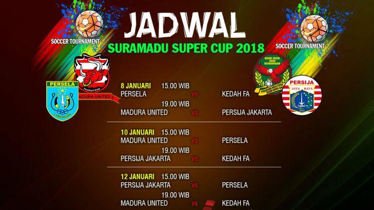 Jadwal Suramadu Super Cup 2018 Copyright: © Liga Olahraga
