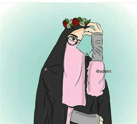 kartun muslimah home facebook