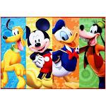 Disney Mickey Mouse Area Rug