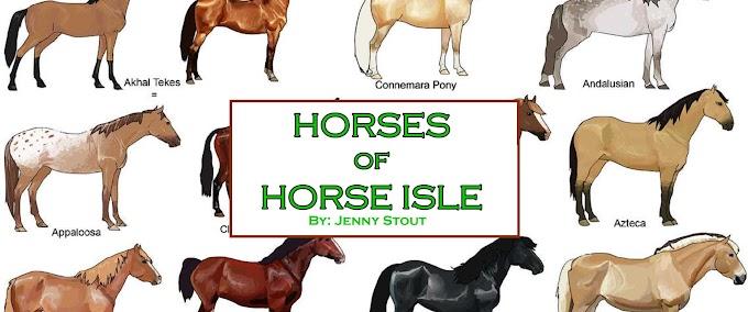 Poster: Horses of Horse Isle