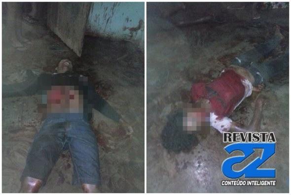 Dois homens são mortos ao tentar assaltar residência e as vitimas reagirem a ação