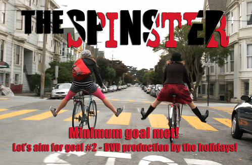 The Spinster - Riding to Success!
