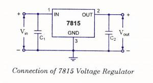 7815 voltage regulator