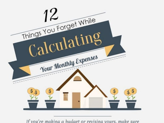 12 things you forget while calculating your monthly expenses