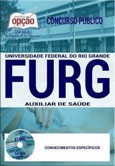 Apostila Concurso FURG 2017 | AUXILIAR DE SAÚDE