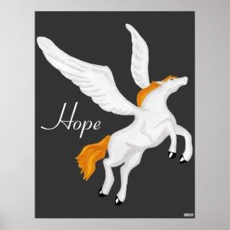Pegasus Poster print