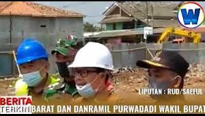 Selain Peletakan Batu Pertama Pasar Ampera, Wakil Bupati Subang Sambangi Warga  Penerima BSPS