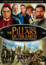 The Pillars of the Earth: Available on DVD or Blu-ray Disc