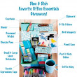 Our Favorite Things BlogHop Group Giveaway Office Essentials