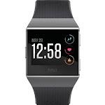Fitbit - Ionic Smartwatch Charcoal/smoke gray - Sports - Black