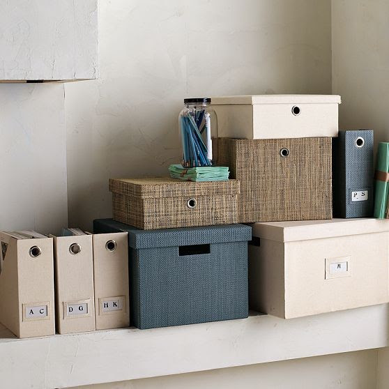 Canvas Home Office Storage - modern - desk accessories - by West Elm
