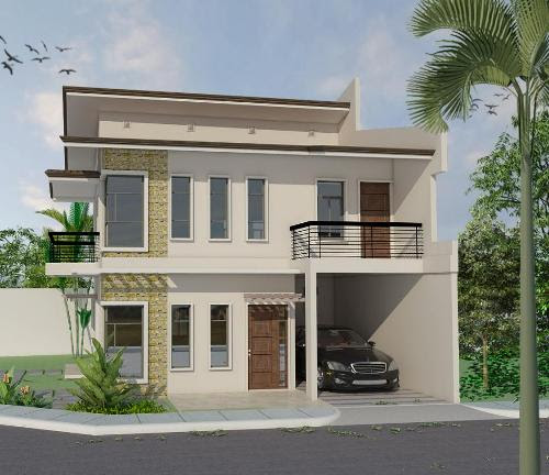 Gambar Denah Rumah 2 Lantai: Inspirasi Rumah Philipina