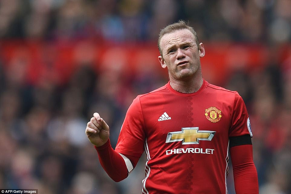 Mourinho opted to play Wayne Rooney against the Swans, captaining the side from an advanced central midfield position
