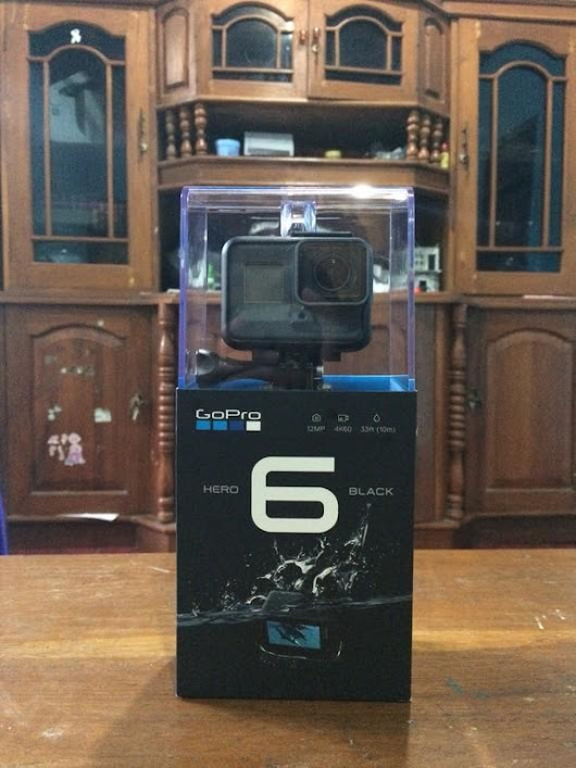 Gopro Hero 6 Black BNIB