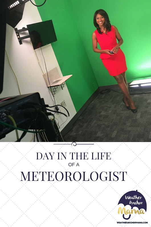 Day in the Life of a Meteorologist | Weather Anchor Mama