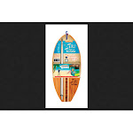 Mellow Militia 3331 Tiki Toss Surf Deluxe Edit