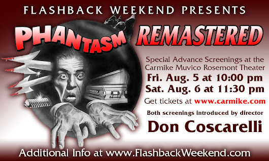 Don Coscarelli to Present 4K Remaster of PHANTASM Friday & Saturday Nights at Flashback Weekend 2016