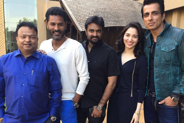 'Kaantha' with Prabhu Deva and Tamannah